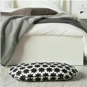 COPY - New IKEA LURVIG Black & White Pet Bed Cover